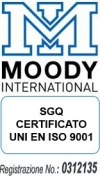 Sincert Moody International Certification - Registrazione n. 0312135
